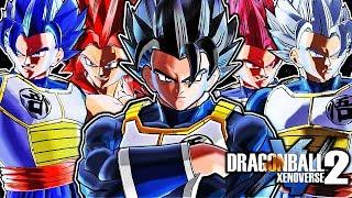 Dragon Ball Xenoverse 2 PC: H-Ring Veku Fusion DLC Mod Pack Gameplay (NEW VEKU ALL TRANSFORMATIONS)