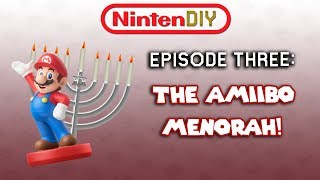 NintenDIY Episode 3: The Amiibo Menorah!