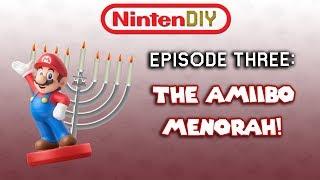 NintenDIY Episode 3: The Amiibo Menorah!