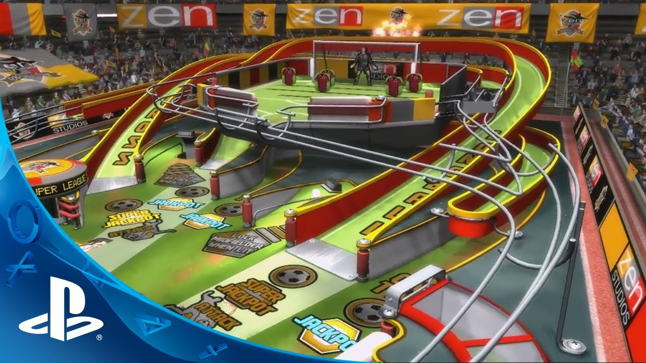 Goooooal! Super League Football Coming Soon to Zen Pinball 2