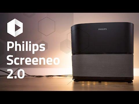 Análisis proyector Screeneo 2.0 de Philips. Review en español.