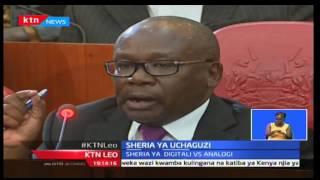 KTN Leo: Kamati ya sheria katika bunge la seneti yapokea hisia ya mabadiliko ya sheria ya uchaguzi