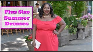 Plus Size Fashion: Chic Daytime Summer Dresses