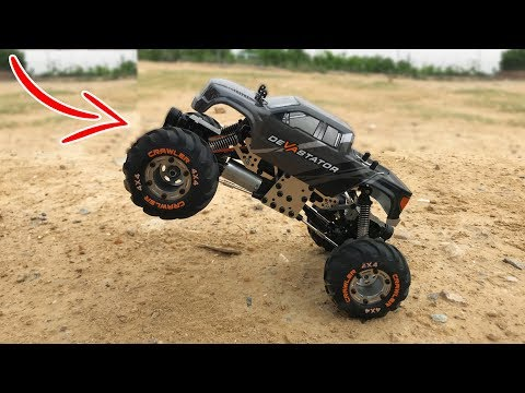 Best RC Rock Crawler Under 6000rs(90$) | HBX 2098B 1:24 4WD Unboxing & Testing | Rc Adventure.