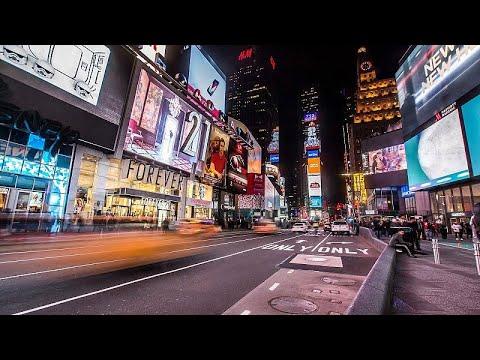 Εικόνες από την άδεια Νέα Υόρκη