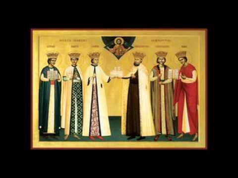 Cantari la Sfintii Martiri Brancoveni