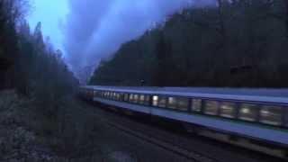 preview picture of video 'Sonderzug vom Bw Glauchau mit 01 509 auf Tharandter Rampe'