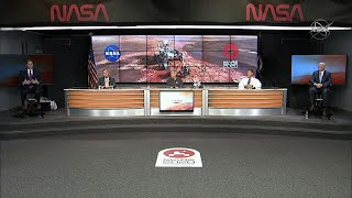 NASA holds briefing ahead of Mars rover launch