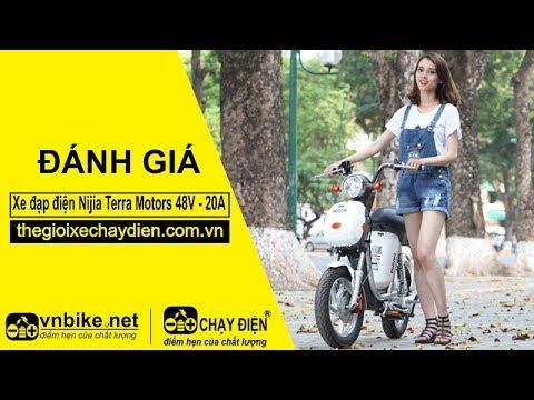 Đánh giá xe đạp điện Nijia Terra Motors 48V - 20A