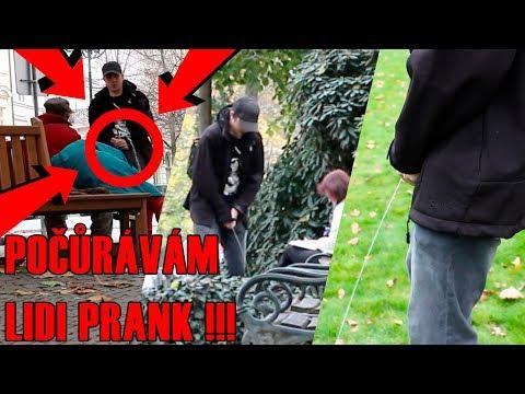 POČŮRÁVÁM LIDI NA ULICI !!! | PRANK