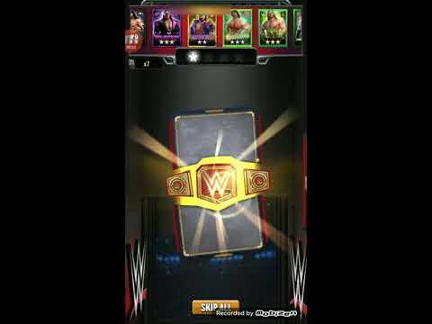 WWE Champions - 10x Scott Hall 4 Star Loot Pull!!