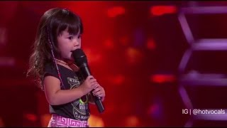 Why are these 3 year old kids singing better than me 😱 🎵hotvocals