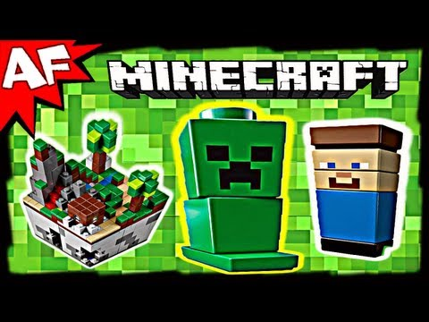 Vidéo LEGO Minecraft 21102 : Micro monde - La forêt