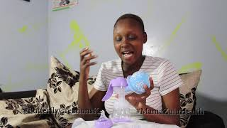 How To Express Breastmilk (manual pump)