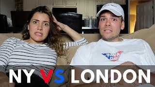 Worst things about New York - NYC vs LDN 🇺🇸🇬🇧