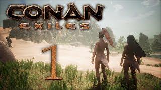 Conan Exiles - прохождение игры на русском - Новая жизнь [#1]   PC
