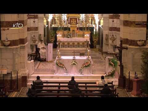 Laudes et Messe du 3 février 2021 à Notre-Dame de la Garde