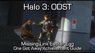 Halo 3: ODST - One Got Away Achievement Guide - Missing Link Easter Egg