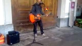 "Bob Dylan - If You Ever Go To Houston - Fed's cover (live@Aosta, ""Festival degli Artisti di Strada"")"