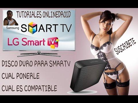 SMART TV LG Y SAMSUNG QUE DISCO DURO EXTERNO PONERLE  Y ASTA QUE CAPACIDAD REPRODUSEN