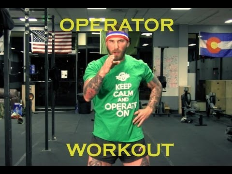 How To Workout Like An Operator - MBest11x