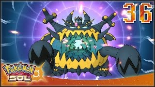 Guzzlord  - (Pokémon) - Pokémon Sol Capítulo 36 - GUZZLORD EN LA CUEVA DESENLACE !