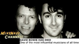 RIP David Bowie - BBC News / Tribute / Interview (Jan, 2016) [HD]