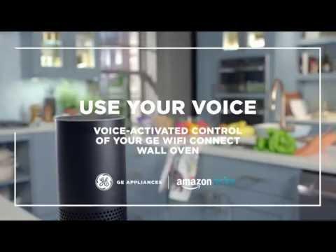 WiFi Connect Wall Oven & Range with Amazon Alexa