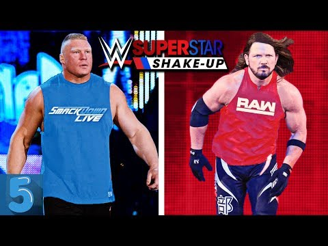 5 WWE Superstars That MIGHT SWITCH Brands (WWE SUPERSTAR SHAKE-UP 2019)