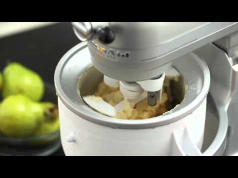 Video Ice Cream Maker Attachment | KitchenAid
