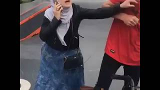Очередной скандал на скейт-площадке в Рудном