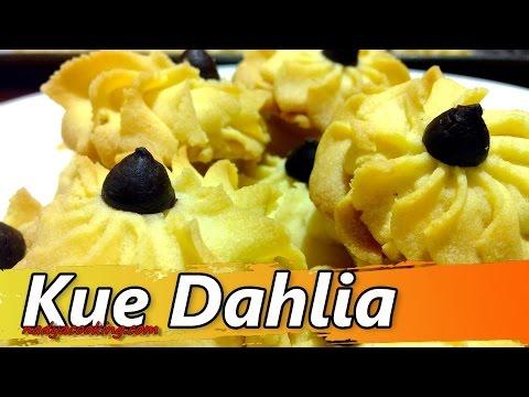 Video Resep Kue Kering Semprit Dahlia