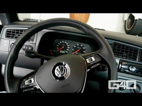 🇩🇪 Golf 7 Lenkrad in Golf 4 Cabrio / Golf 3 | Teil 2 | Wickelfeder, Blinkerrückstellung, Hupe, etc