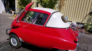 Dang ...Isetta ran out of gas on test drive...