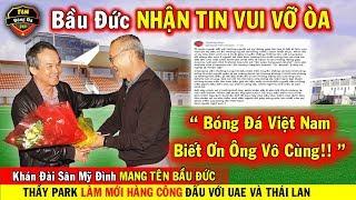 🔥Tin Bóng Đá Việt Nam 20/10: Bầu Đức Nhận Tin Cực Vui Từ NHM Việt Nam..Thầy Park Làm Mới Hàng Công