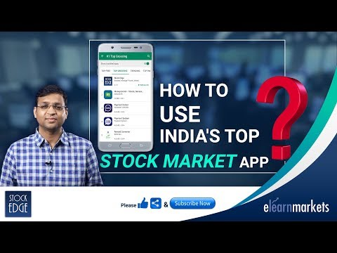 How to use India's Top Stock Market App?