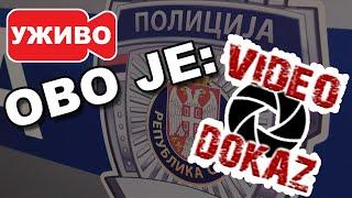 UŽIVO: Čovek čiju sliku ima svaka policijska stanica u Beogradu! Video Dokaz