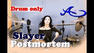 Slayer - Postmortem drum only(cover by Ami Kim){38th-2}