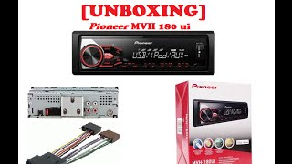 Unboxing pioneer MVH 180UI