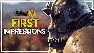 Fallout 76 Beta! - Review/First Impressions & Starting Out! (Fallout 76 Beta Gameplay Xbox One X)