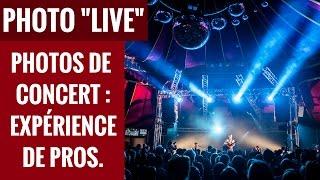 "Vignette de FB ""Studio Live"" : la photo de concert (redif)"