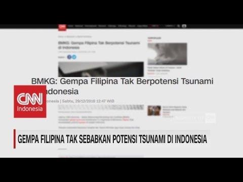 BMKG: Gempa Filipina Tak Sebabkan Potensi Tsunami di Indonesia