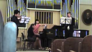 Khachaturian-Trio for Clarinet,Violin&Piano.Alevtyna Dobina,Yaroslav Seredynsky,Maksym Stepanenko
