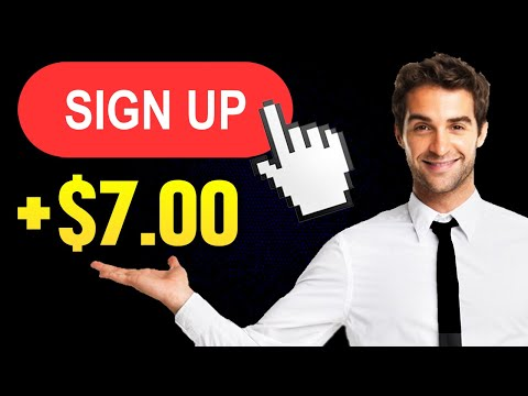 Earn $7.00 Per FREE Sign Up *NEW TRICK* (Make Money Online 2021)