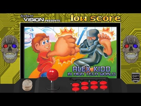 Low Score: Ep 55: Alex Kidd in High-Tech World (1987) Sega Master System