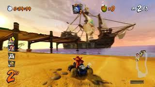 Crash Team Racing: Nitro-Fueled -- hands-on with Crash Cove