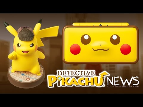 HUGE Detective Pikachu amiibo Announced   Nintendo Wiretap   January 12th, 2018