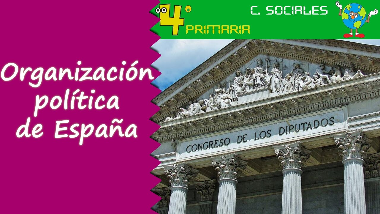Ciencias Sociales. 4º Primaria. Tema 5. Organización política de España