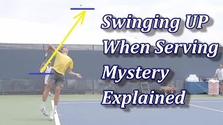 The Swinging Up On The Serve Mystery Explained