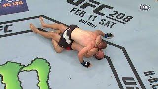 First Ezekiel Choke in UFC History!!! (Feat. Vince Vaughn)